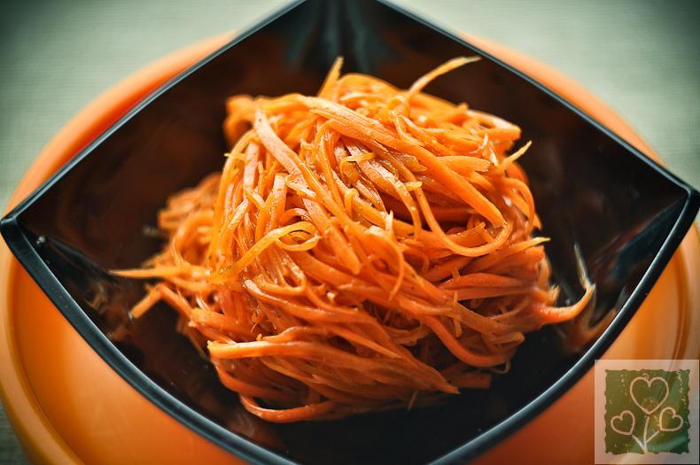 рецепт с фото морковь по-корейски