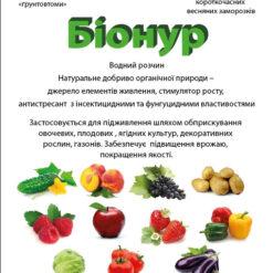 Бионур (Удобрения органические)